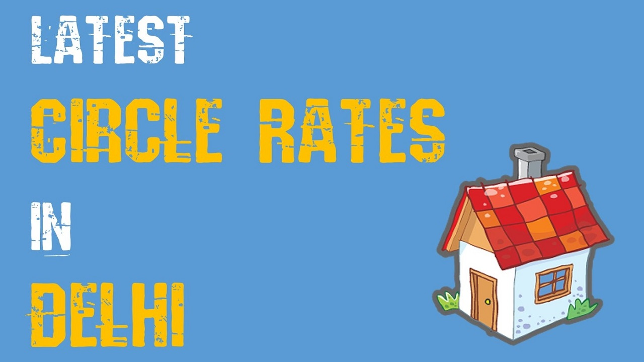 MCD Delhi circle rate in various localities: